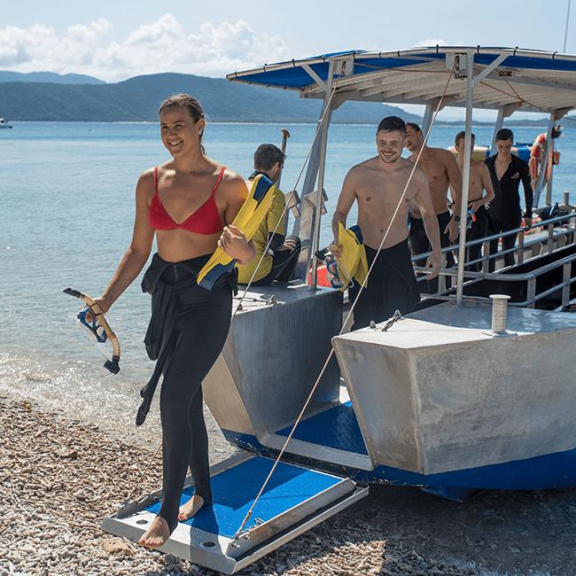 Fitzroy Island Lunch Snorkel Tour