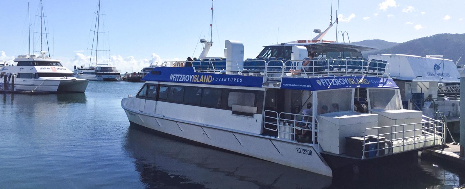 Fitzroy Island Boat